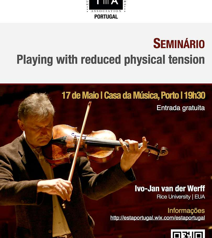 Seminário Playing with reduced physical tension