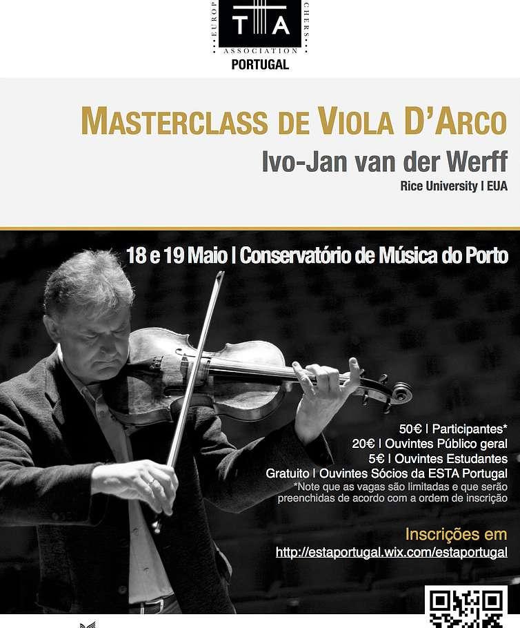 Masterclass de Viola D'Arco